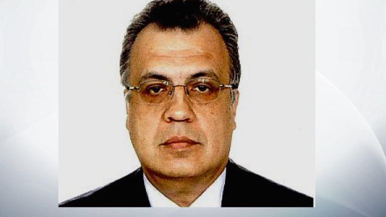 Andrey Karlov, Russia's ambassador to Turkey