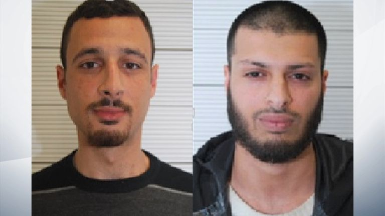 Two men convicted of funding Mohammed Abrini, the Brussels 'man in the hat' terrorist