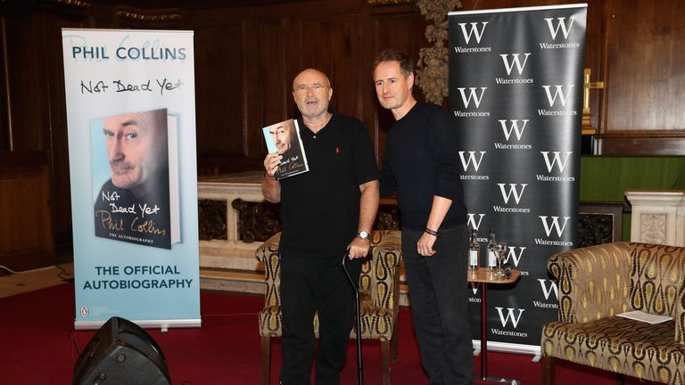 Collins autobiography was released in October