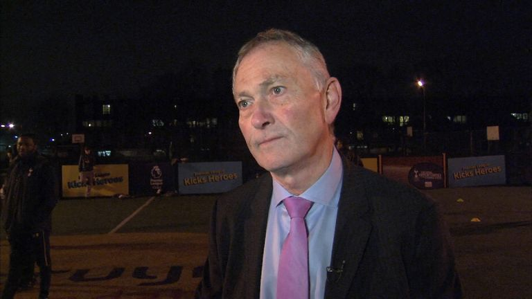 Richard Scudamore addresses abuse allegations