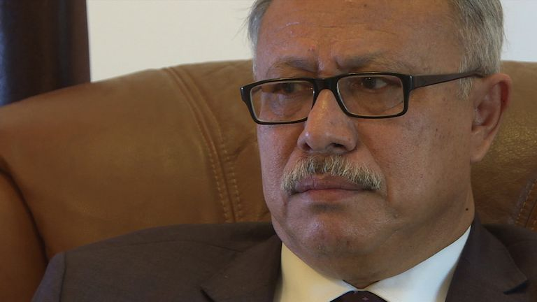 Abdulaziz bin Habtour has accused Britain of war crimes in Yemen
