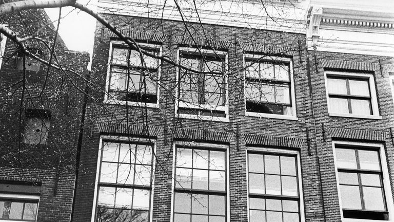 The house in Amsterdam where Anne Frank and her family hid from the Nazis
