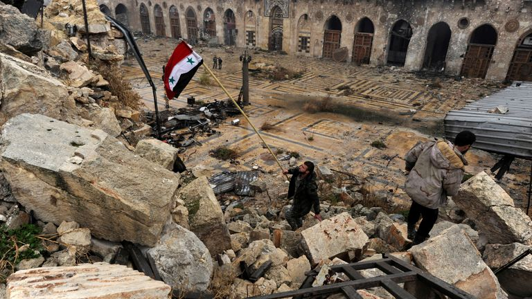 Syrian forces have regained control of Aleppo from rebels