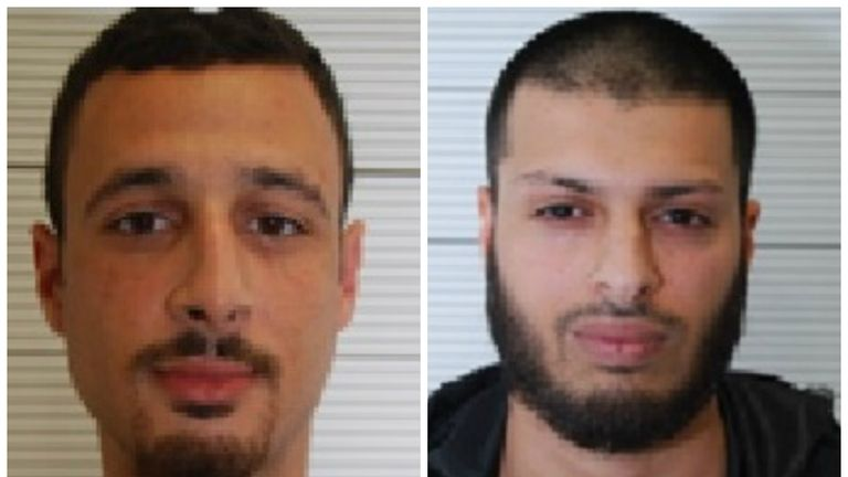 Zakaria Boufassil and Mohammed Ali Ahmed are guilty of funding terrorism by handing money to a Brussels bomb suspect