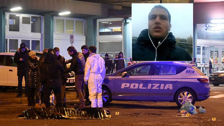 Anis Amri was killed in a shootout with police in Milan