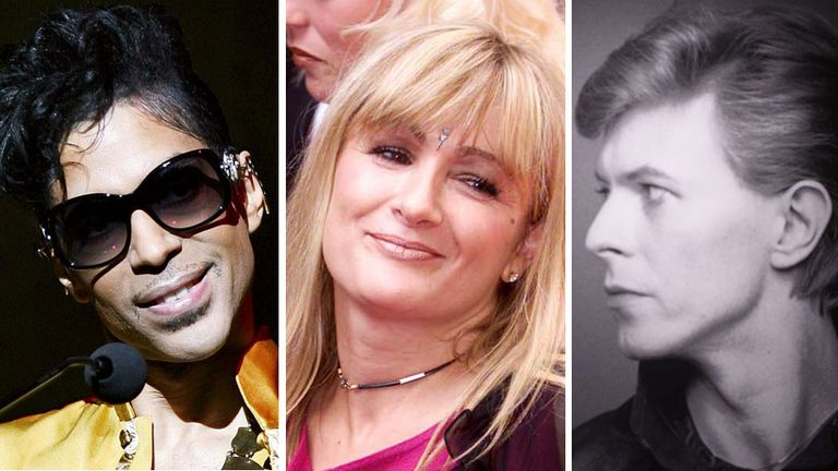 Prince, Caroline Aherne and David Bowie passed away in 2016