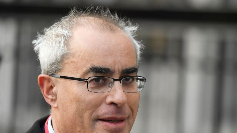 Lord David Philip Pannick arrives at the Supreme Court