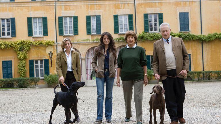 The Vistarino family in northern Italy  (pic: contevistarino.it)