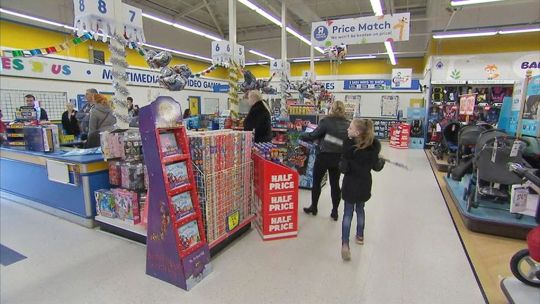 Autism-friendly shopping hours at Toys R Us