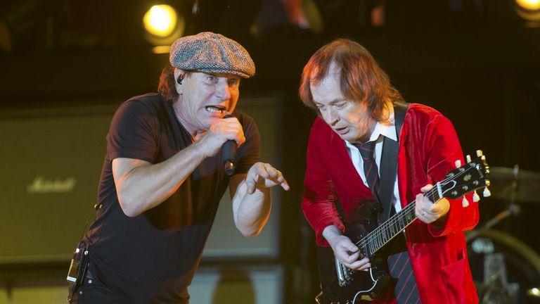 Rockers such as AC/DC  dent men's concentration