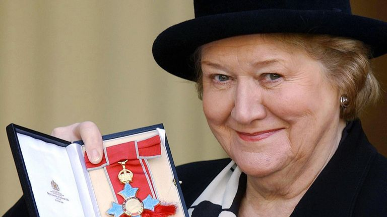 Keeping Up Appearances actress Patricia Routledge will be made a dame for services to the theatre and charity