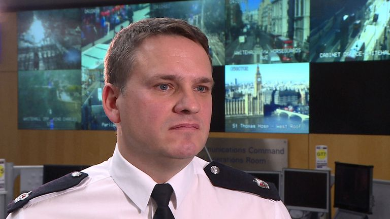 Superintendent Phil Langworthy of the Metropolitan Police discusses heightened security around New Year celebrations