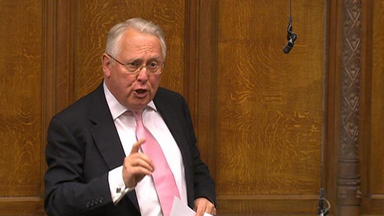 Bob Neill MP speaking in the House of Commons