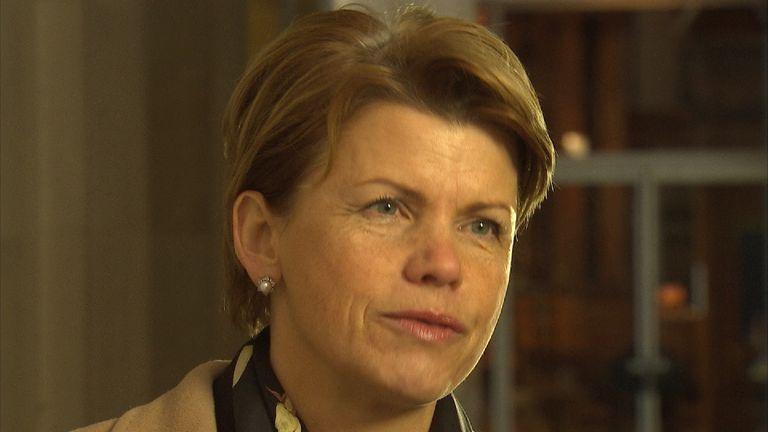 Latvian Ambassador to the UK Baiba Braze