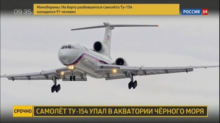The Tu-154 is the workhorse of the Russian military
