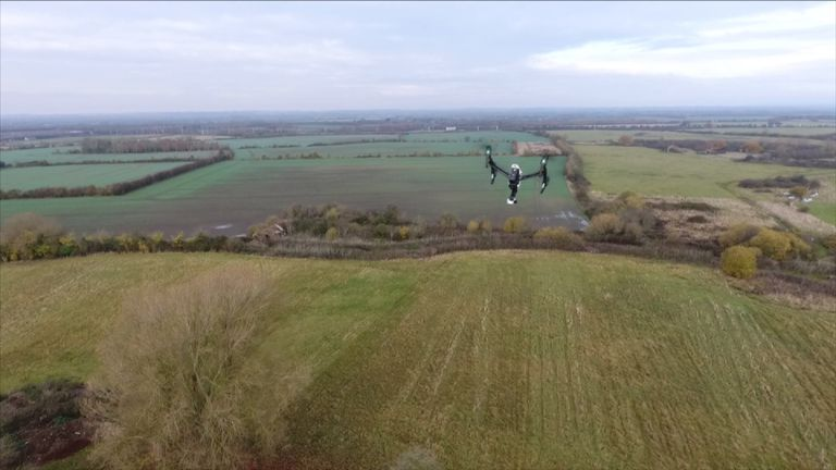 Drone technology could help secure our borders