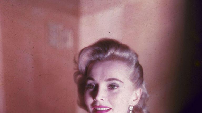 Hollywood film actress Zsa Zsa Gaborin 1953