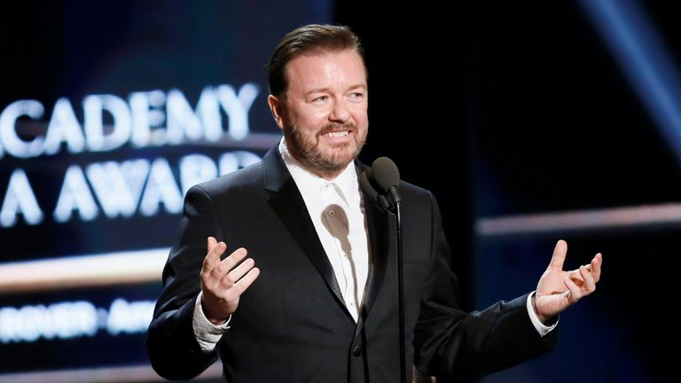 Gervais admitted it is 'unlikely' he will ever get the gig