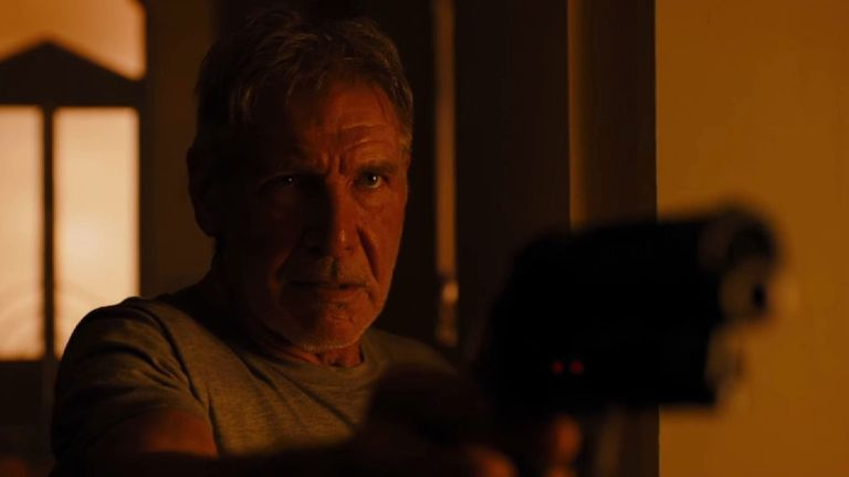 Harrison Ford reprises his role as Rick Deckard in Blade Runner 2049.