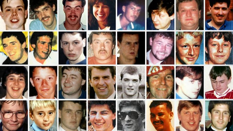 Victims of the Hillsborough disaster