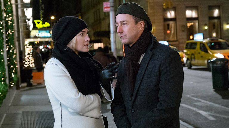 Kate Winslet and Edward Norton play Smith's colleagues