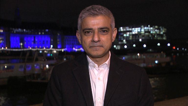 Sadiq Khan addresses NYE security concerns