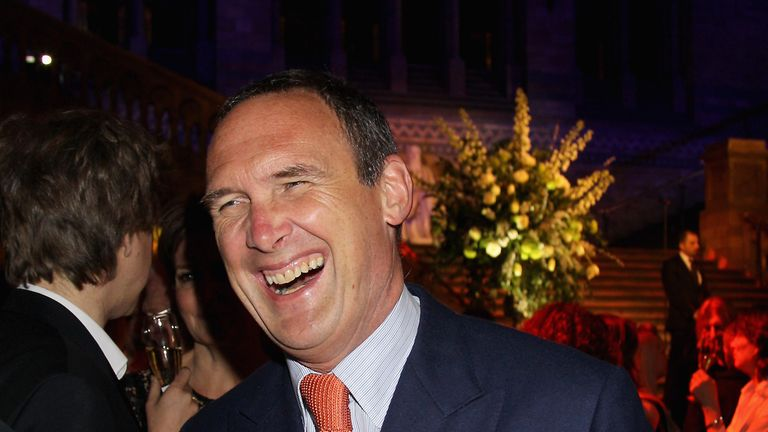 LONDON, ENGLAND - FEBRUARY 20: Authour AA Gill attends the 2012 Orion Authors' Party at the Natural History Museum at the Natural History Museum on February 20, 2012 in London, England. (Photo by Chris Jackson/Getty Images for Orion Books)