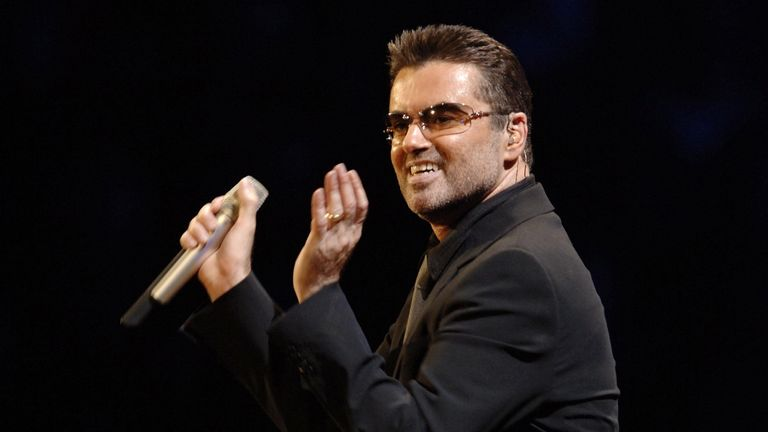 George Michael pictured in 2006