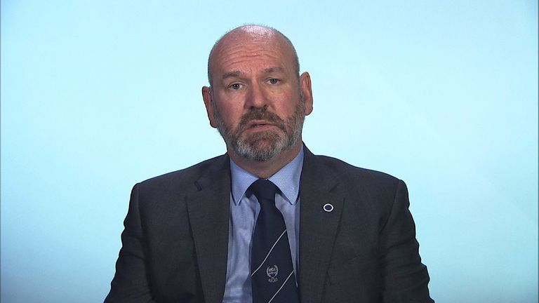 Aslef's Mick Whelan insists the dispute is about safety