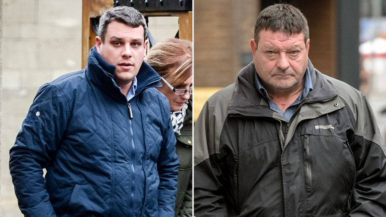 Matthew Gordon and Peter Wood have both been found guilty of manslaughter