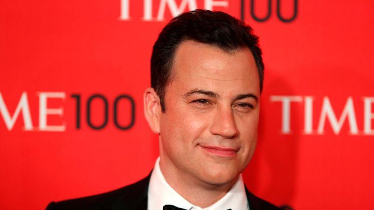 Television host Jimmy Kimmel