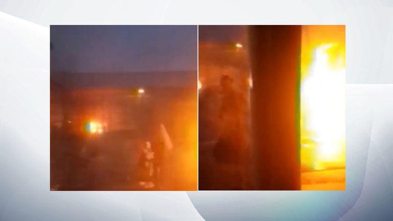 Apparent fire at HMP Birmingham