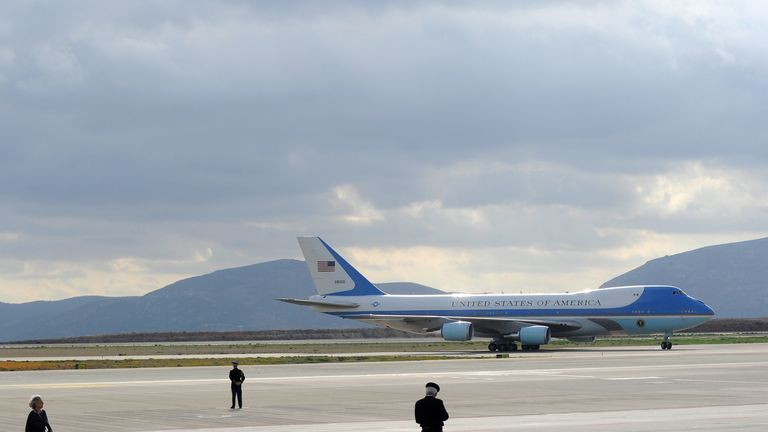 Air Force One has 4,000 square feet of floor space
