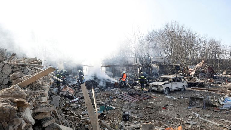 Four people were killed in the deadly blast