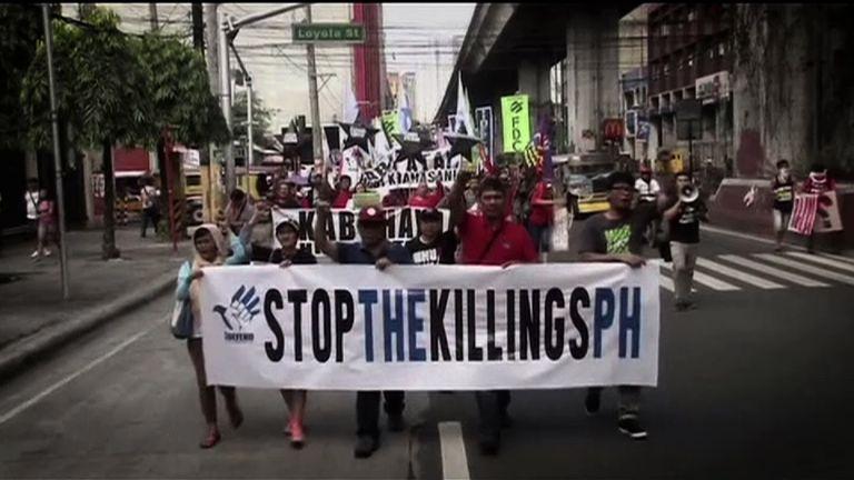 President Duterte's war against drugs in the Philippines