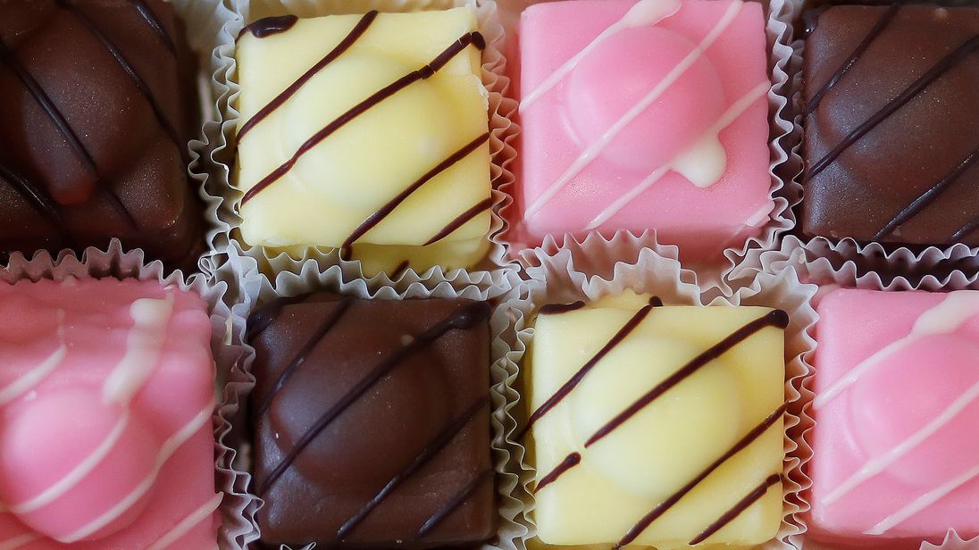An illustration of a box of Mr Kipling French Fancies March 2016