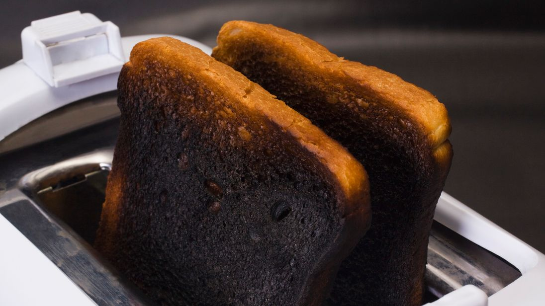 Image result for burnt toast