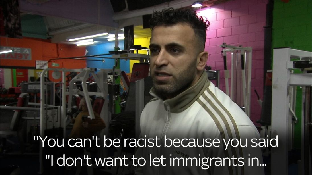 Buddy runs a gym in Burnley whose members come from a number of backgrounds