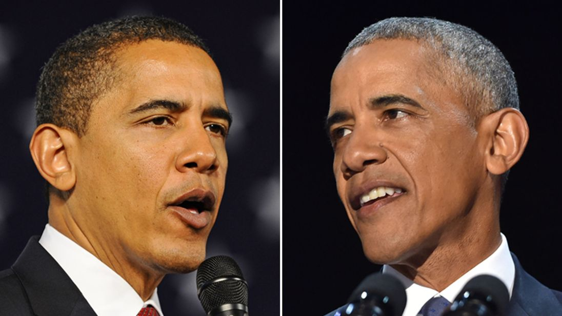 President Obama through the ages