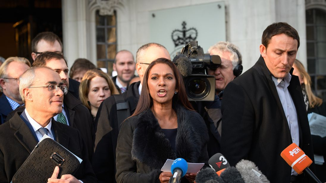 Businesswoman Gina Miller