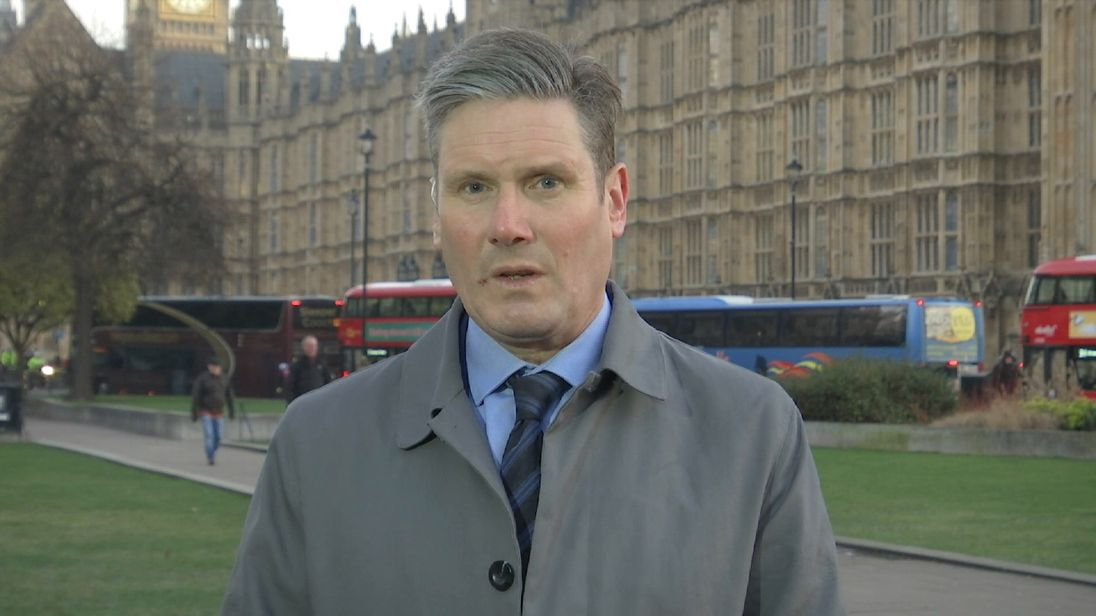 Keir Starmer says the are inconsistencies in Mrs May's Brexit plans