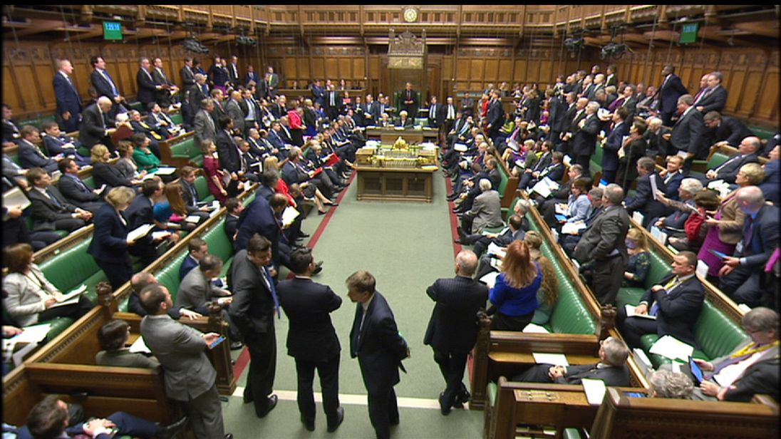 MPs debate the triggering of Article 50 in the House of Commons