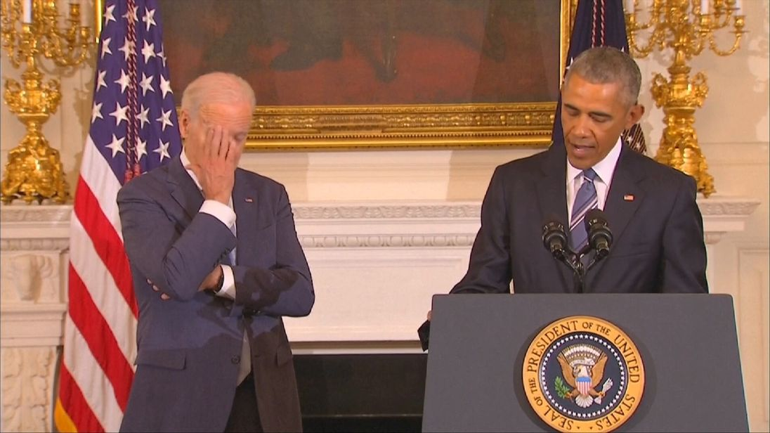 Joe Biden receives America's highest civilian honour with distinction from Barack Obama