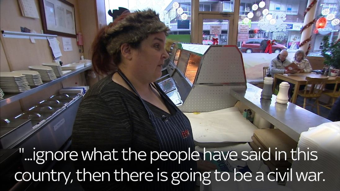 This Burnley fish and chip shop owner gives her view on Brexit