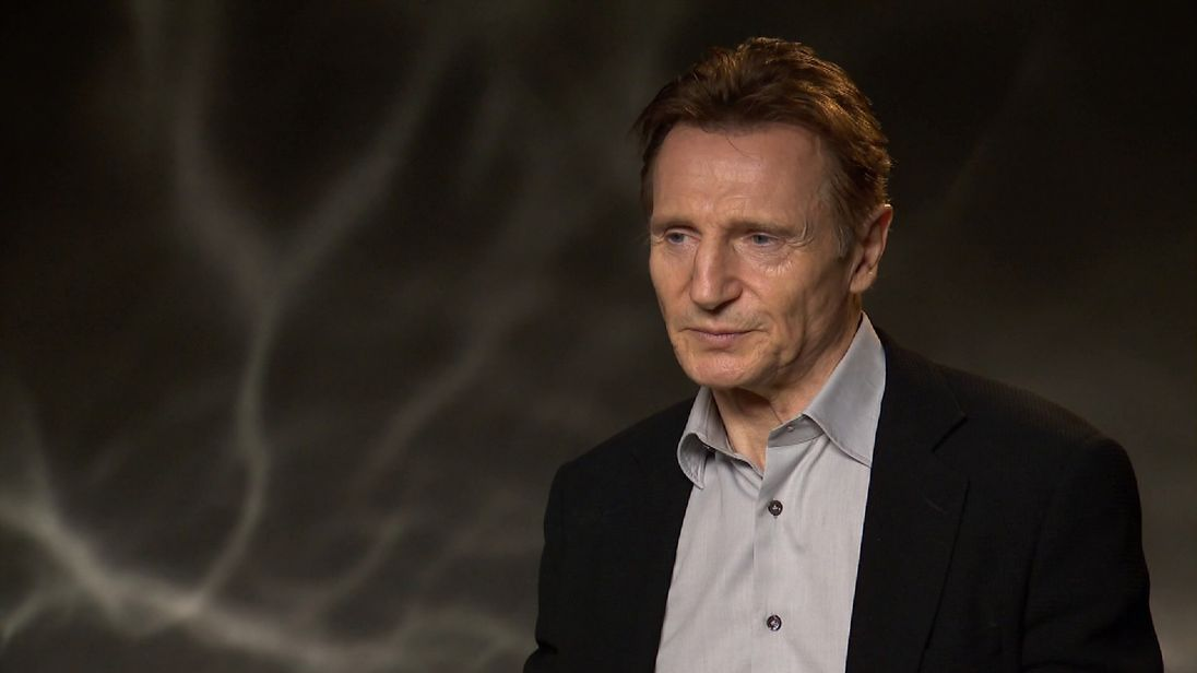 Liam Neeson on  working with Scorsese and attending the Oscars