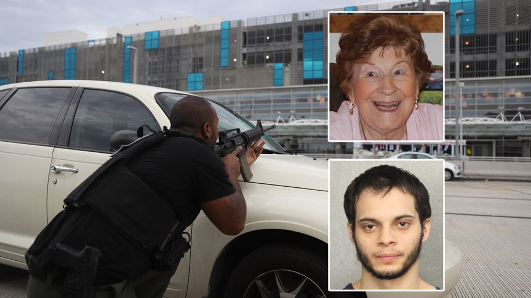 Olga Woltering was one of five allegedly shot dead by Estaban Santiago