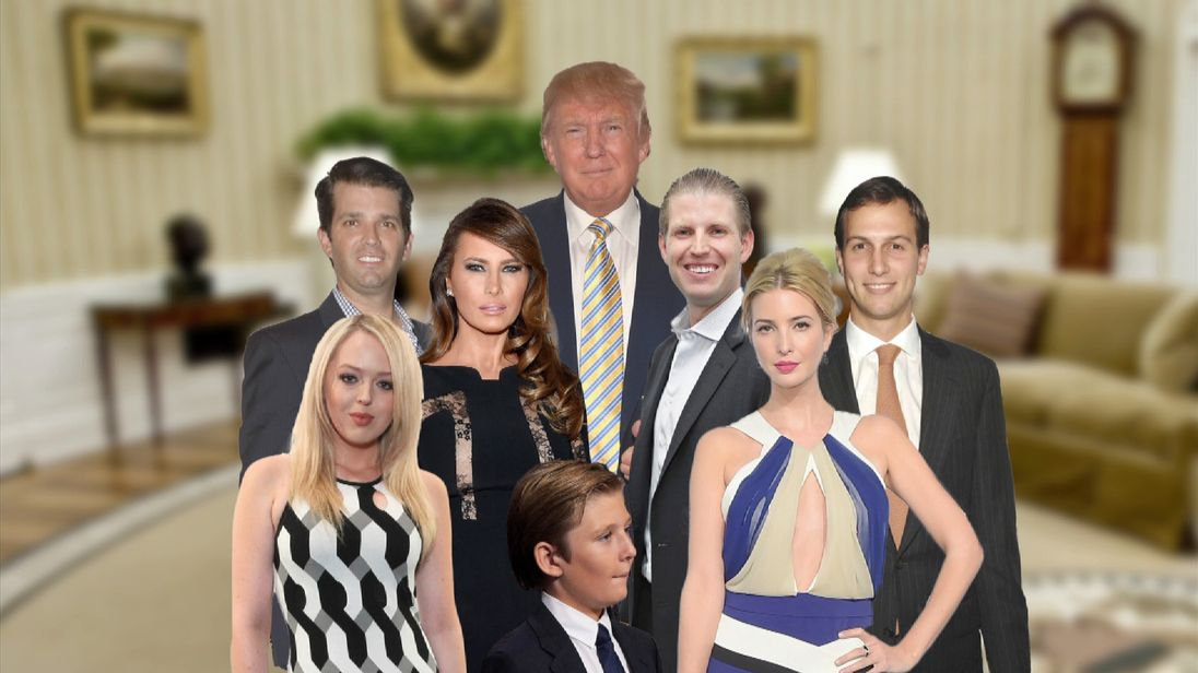 There's a new First Family - now its time to meet the Trumps.