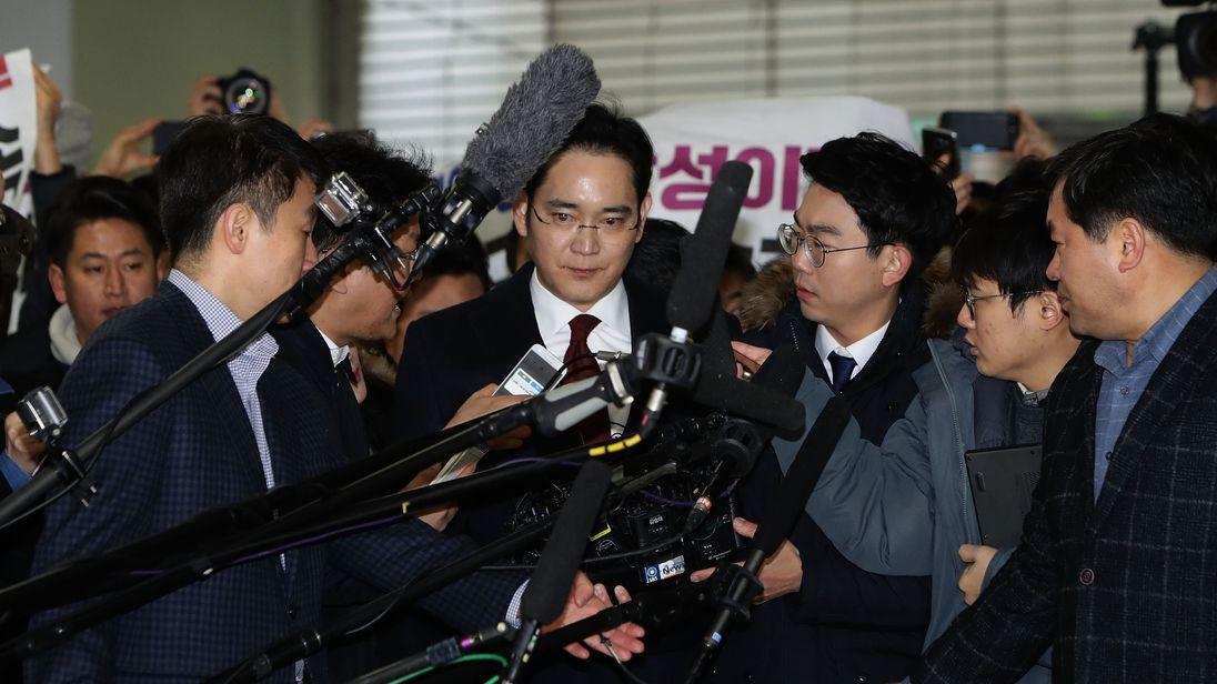 Jay Y. Lee has run Samsung since 2014