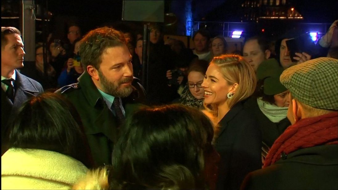 Crying over Affleck sex scenes? No, Sienna Miller was laughing