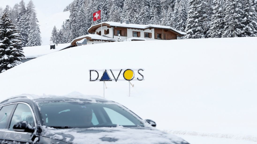 World leaders will gather at the luxury ski resort in Davos